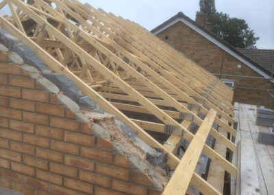 Fitting a new roof, Little Stoke